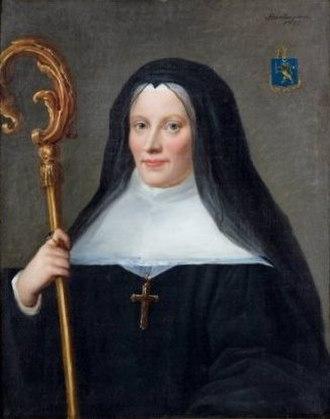 Maison royale de Saint-Louis - Marguerite de Guillermin, last abbess of Saint Cyr.