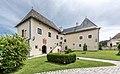 Maria Saal Domplatz 4 Torbogenbau Kapitelhaus und Westteil NW-Ansicht 30062017 0016.jpg