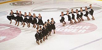 Figure skating - Synchronized skating