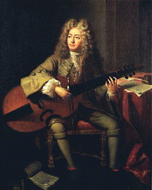 Marin Marais - Marin Marais by André Bouys, 1704