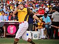Mark Trumbo competes in semifinals of '16 T-Mobile -HRDerby. (28492221061).jpg