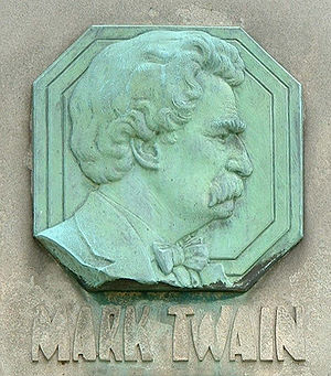 Mark Twain Tombstone
