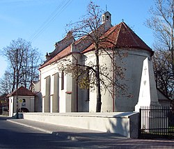 Church of the Holy Spirit in Markuszów, erected circa 1609