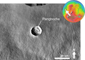 Martian impact crater Pangboche based on day THEMIS.png