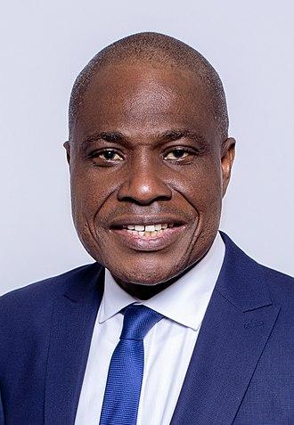 2018 Democratic Republic of the Congo general election - Image: Martin Fayulu Par Ezra Sierra © 2018 cropped