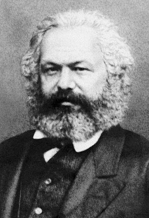 The Belgian Massacres - Karl Marx, author of the pamphlet, photographed in 1869