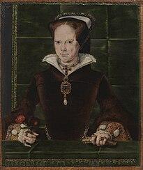 Hans Eworth: Königin Maria I.