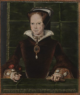Hans Eworth - Mary I by Hans Eworth, 1554