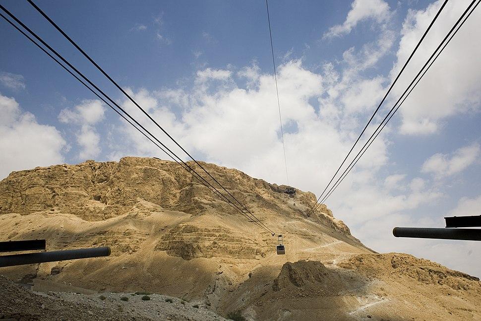 Masada cableway - emilie raguso