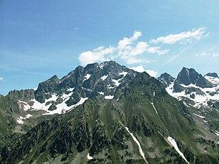 Monte Argentera mountain in Italy