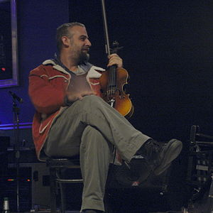 American Jazz musician and composer Mat Maneri.