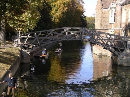 Mathematicians bridge cambridge large