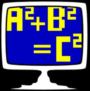 Mathomatic - The official Mathomatic logo