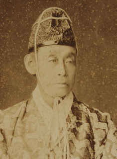 [松平近説] daimyo of the late Edo period; 10th (the last) lord of Funai