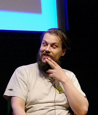 Matthew Smith (games programmer) - Matthew Smith at the Screenplay festival in Nottingham, UK (2005)