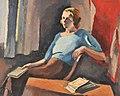 Maurice Asselin - Jeune femme assise.jpg