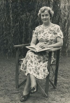 Mavis Thorpe Clark - in 1948