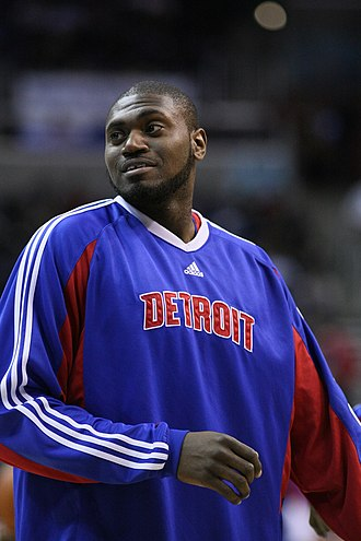 Jason Maxiell - Maxiell during his tenure with the Detroit Pistons