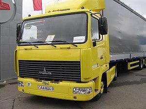 Minsk Automobile Plant - MAZ-447131