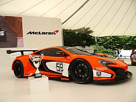 McLaren 650S GT3 at Goodwood 2014 001.jpg