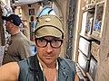 Me with Rebel cap, Dok-Ondar's Den of Antiquities, Galaxy's Edge, Disneyland, Anaheim, California, USA (48076326777).jpg