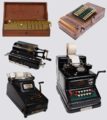 Mechanical calculators Keyboards.png