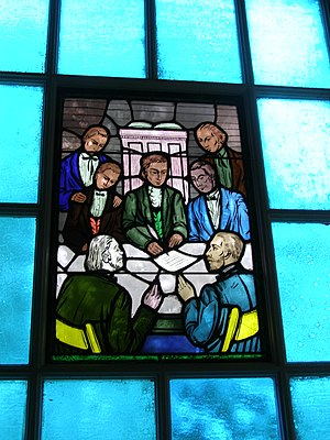 Springfield Presbytery - Image: Medallion Signing of The Last W Ill and Testament of The Springfield Presbytery P6200021