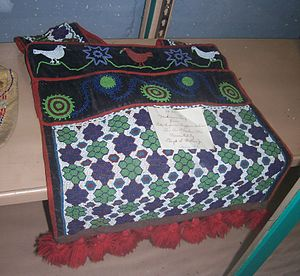 Bandolier bag - Image: Medicine Bag Wabeno Logging Museum