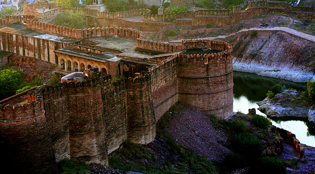 10th place: Mehrangarh Fort, located in Jodhpur, Rajasthan is one of the largest forts in India, by Monica Goe