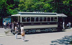 日本最古の電車京都北野線(通称N電が引退。)