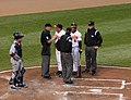Melvin Mora and Dave Trembley argue-2.jpg