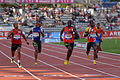 Men 400 m French Athletics Championships 2013 t180101.jpg