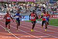 Men 400 m French Athletics Championships 2013 t180101.jpg