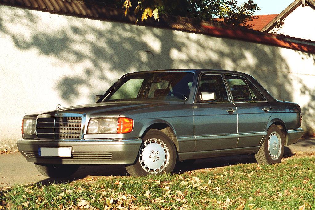 Mercedes W126 500SE