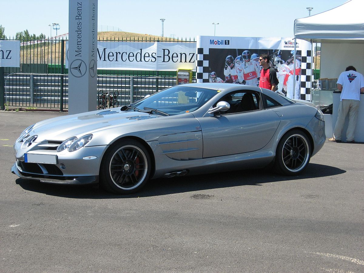Mercedes Benz Slr Mclaren 722 Edition Wikipedia