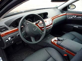 Mercedes-Benz S-Class (W221) - Interior