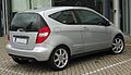 Mercedes A 150 BlueEFFICIENCY Coupé Classic (C169) Facelift rear 20101016.jpg