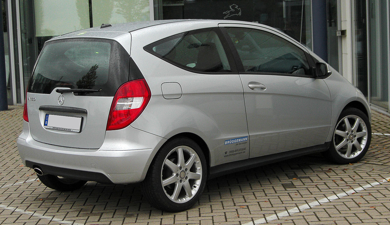 file mercedes a 150 blueefficiency coup classic c169 facelift rear wikimedia. Black Bedroom Furniture Sets. Home Design Ideas