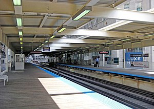 Merchandise Mart station - Image: Merchandise Mart cta station