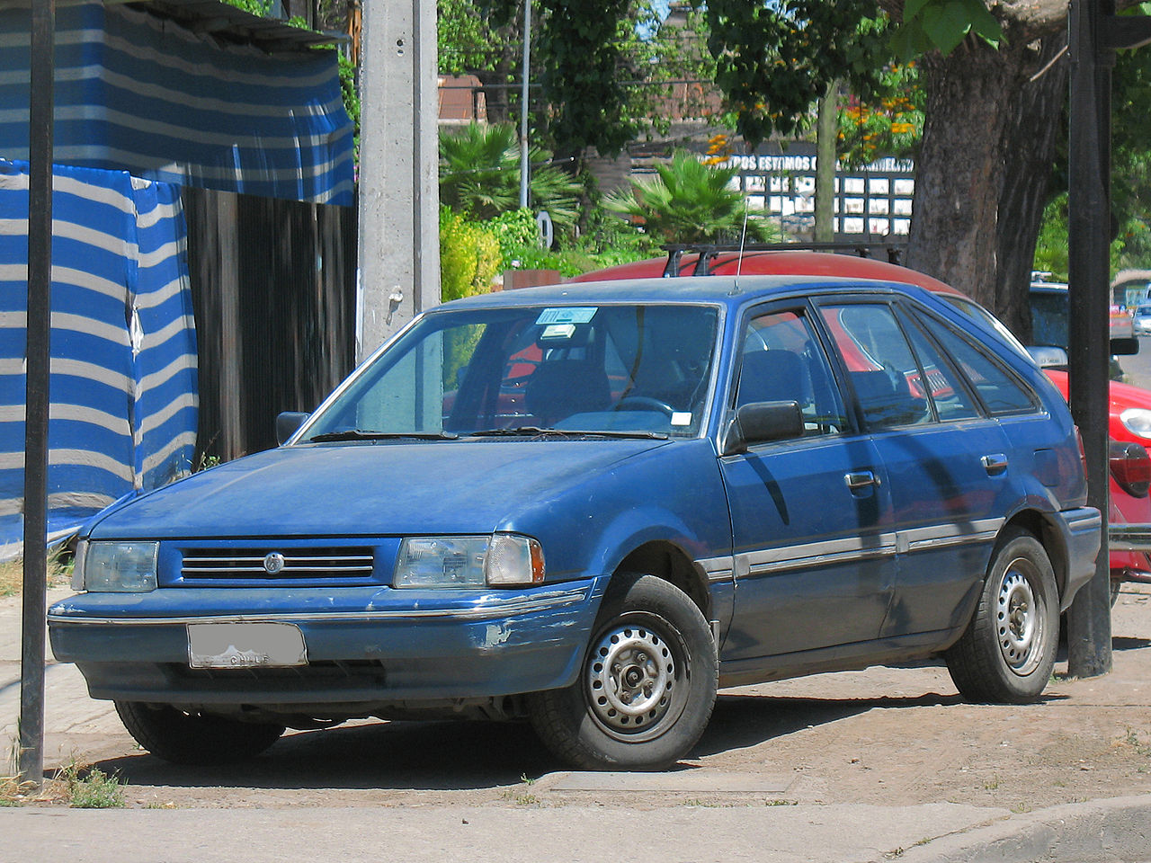 Ridiculous Rebadges The Mazda 323 Fords First World Car 1989 Mercury Tracer Wiring Diagram Uploadwikimediaorg Wikipedia Commons Thumb 5 57 16 28877754461629 1280px