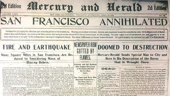 Mercury and Herald, April 19, 1906