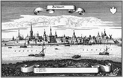 Merian d. Ä., Matthäus - Ansicht von Düsseldorf (1647).jpg