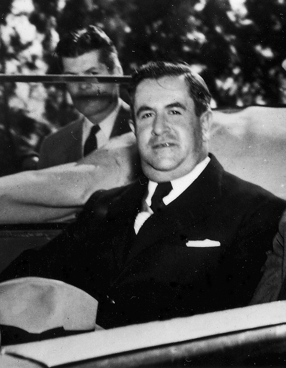 Mexican President Avila Camacho in Monterrey, Mexico - NARA - 196060