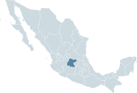 Mexico map, MX-GUA.svg