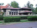 Meyer May House, south side, 2009.JPG