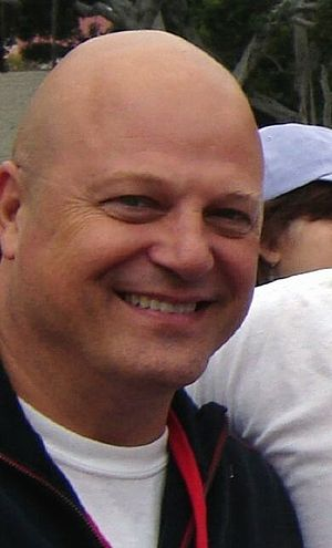 Michael Chiklis - Chiklis in 2007 promoting Fantastic Four: Rise of the Silver Surfer
