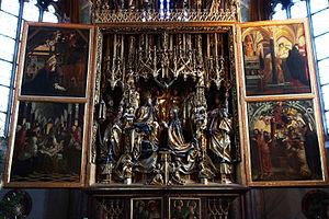 Michael Pacher - St. Wolfgang Altarpiece, 1481
