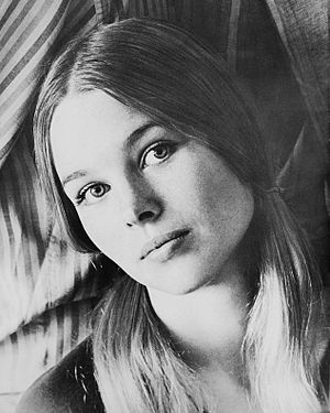 Michelle Phillips - Phillips in a 1966 press photo