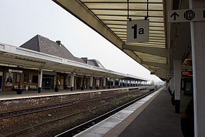 Middlesbrough railway station - Middlesbrough railway station in 2011