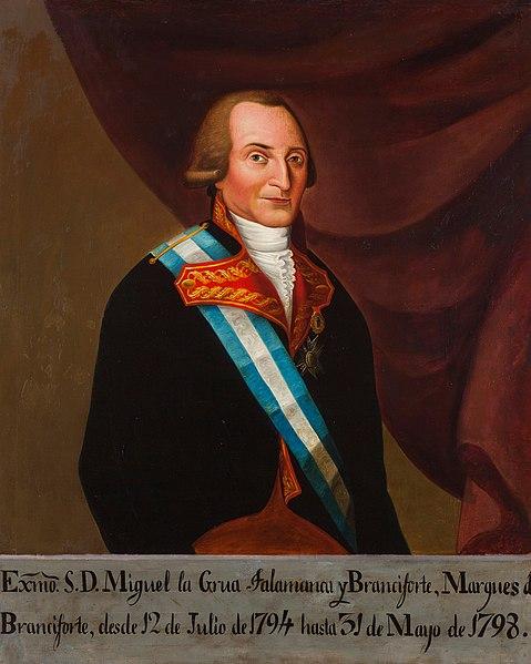 Retrato de Miguel de la Grúa Talamanca.